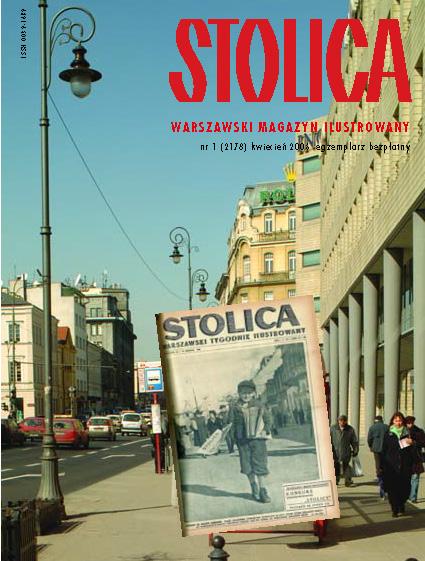 miesiecznik Stolica 1/2006 okladka